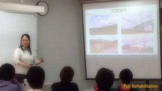 12月4日(金)藤リハビリテーション学院で1日講義をさせていただきました