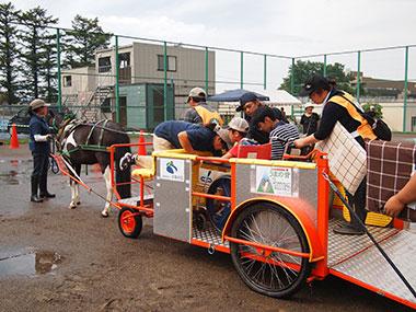 バリアフリー馬車会の開催