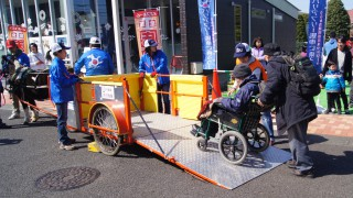 2016年10月14日(金)~16日(日)バリアフリー馬車を『いきいき健康・福祉フェア2016』にて運行いたします!