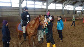 2018年3月3日~4日 北海道で馬と人を感じ、考える 2 日間! ~『乗馬療育』実践研修会in浦河~ を開催します!