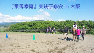 ※中止※『乗馬療育』実践研修会 in 大阪を開催します!